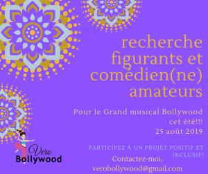 Recherche figurants/comédiens/acteurs amateurs pour théâtre dansé cet été!