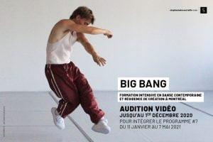 BIG BANG (programme hiver 2021) – Audition