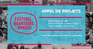 Appel de projets 2021 – Festival Quartiers Danses