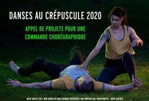 Appel de projets pour une commande chorégraphique Danses au crépuscule 2020